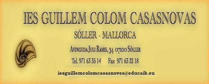 IES GUILLEM COLOM CASASNOVES